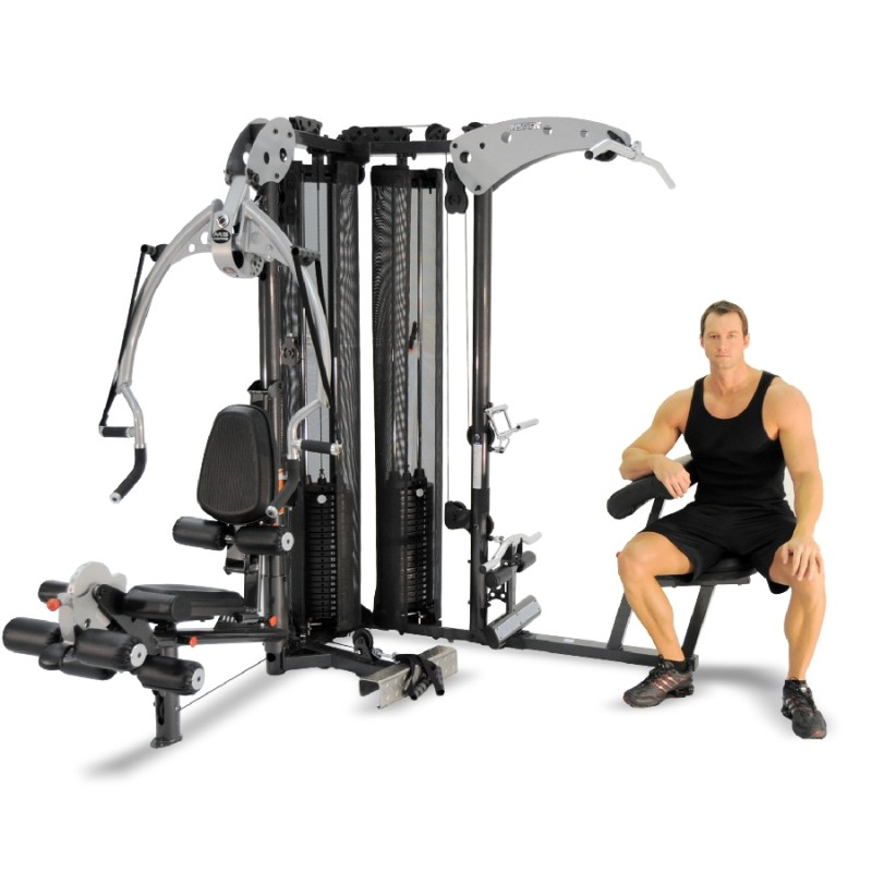 Inspire M5 Multi-Gym and Total Leg Press